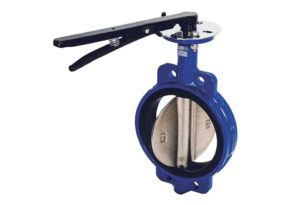 Затвор дисковый поворотный межфланцевый