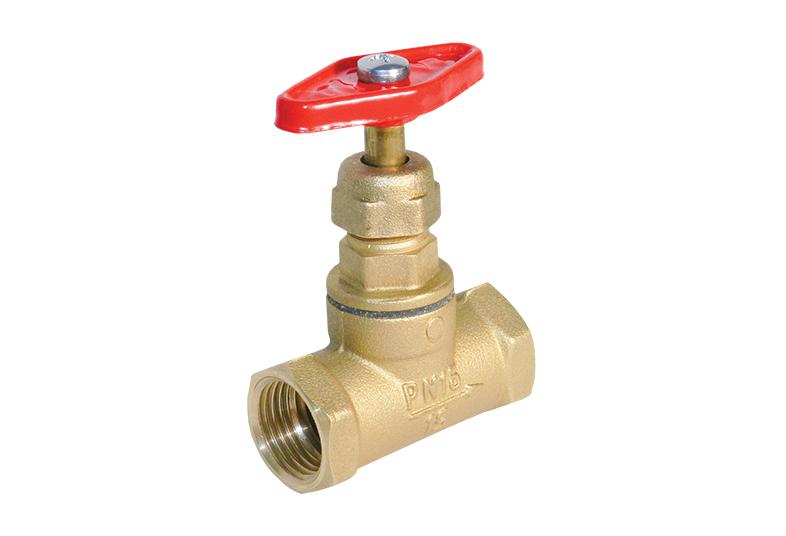 Клапан запорный для воды и пара