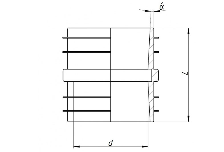 KGF PU – гильза для прохода стен