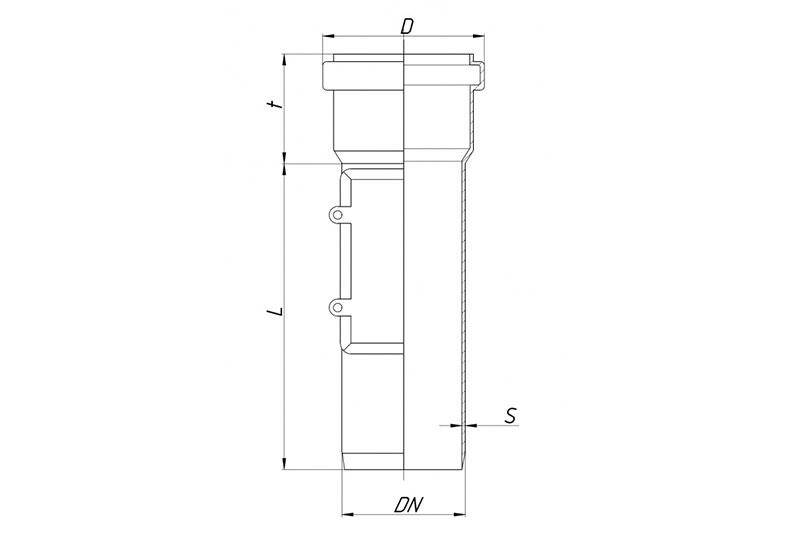 KGRE – ревизия с прямоугольным люком