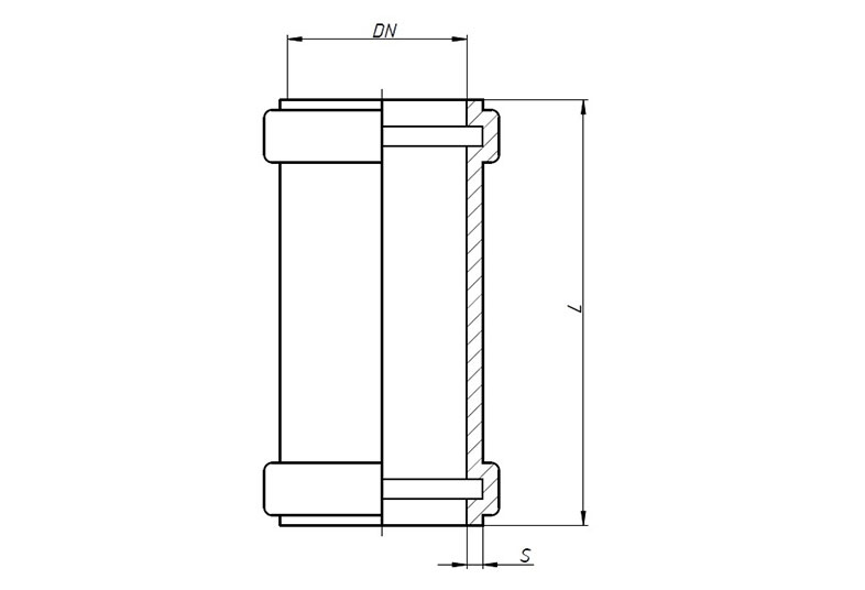 KGU – муфта надвижная (ремонтная)
